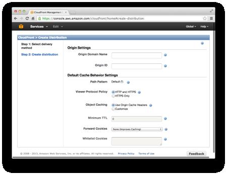 Using Amazon CloudFront CDN | Heroku Dev Center
