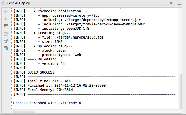Deploying Java Applications to Heroku from Eclipse or