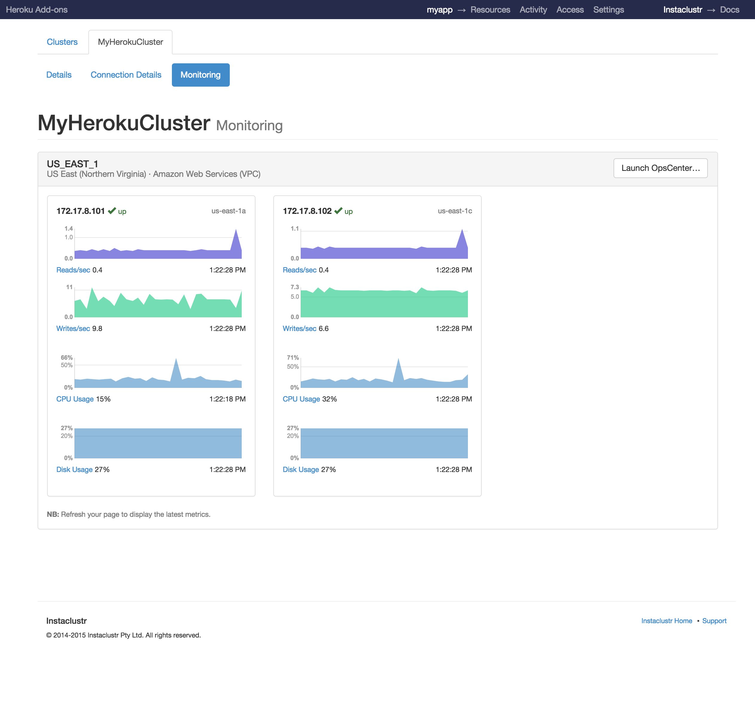 Cluster Monitor